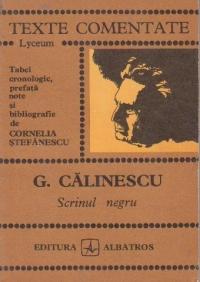 Scrinul negru (Texte comentate - Lyceum)