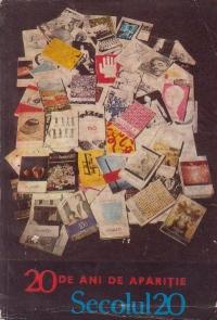 Secolul 20 - Revista de sinteza, Nr. 1-2-3/1981, editie aniversara 20 de ani de aparitie