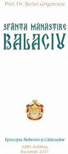 Sfânta Mănăstire Balaciu