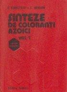 Sinteze de coloranti azoici (2 volume)