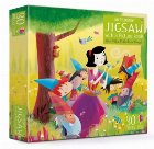 Snow White and the Seven Dwarfs picture book and jigsaw