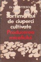 Sortimentul de ciuperci cultivate - producerea miceliului
