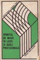 Sportul de masa in licee si scoli profesionale