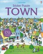 Sticker puzzle town