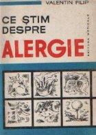 Ce stim despre alergie