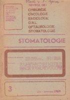 Stomatologia - Revista a societatii de stomatologie, Iulie-Aprilie 1989