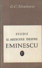 Studii articole despre Eminescu