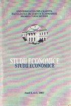 Studii economice Anul 2003