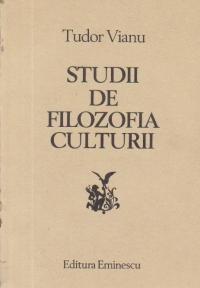 Studii de filozofia culturii