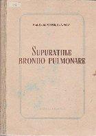 Supuratiile Bronho-Pulmonare