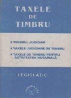 Taxele de timbru. Legislatie, Volumul I si II