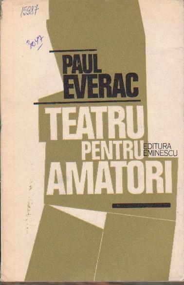 Teatru Pentru Amatori - 10 Piese intr-un act
