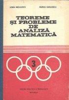 Teoreme si probleme de Analiza Matematica