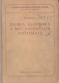 Teoria algebrica a mecanismelor automate
