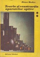 Teoria si constructia aparatelor optice, Volumul al II-lea