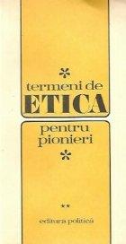 Termeni etica pentru pionieri Volumele