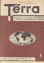 Terra, Revista a Societatii de St. Geografice din R. S. Romania, Nr. 1 - Ianuarie-Februarie 1973