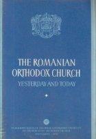 The Romanian Orthodox Church Yesterday