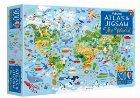 The world atlas and jigsaw