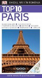 Top 10. Paris. Ghiduri turistice vizuale
