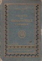 Traite therapeutique clinique Supplement (1955)