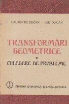 Transformari geometrice Culegere probleme
