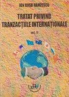 Tratat privind tranzactiile internationale, Volumul al II-lea