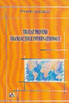 Tratat privind tranzactiile internationale