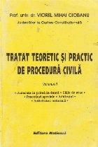Tratat teoretic practic procedura civila