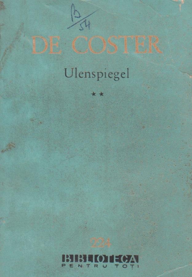 Ulenspiegel, Volumul al II-lea