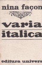 Varia italica - studii