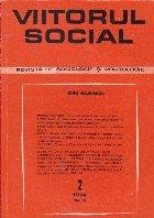 Viitorul Social. Revista de Sociologie si Politologie, Nr. 2/1974