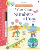 Wipe-clean numbers to copy