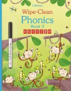 Wipe-clean phonics book 3