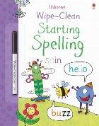 Wipe-clean starting spelling