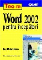 Word 2002 pentru incepatori