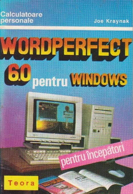 Wordperfect 6.0 pentru Windows
